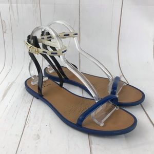 Tory Burch Multicolor Ankle Strap Sandals Size 9